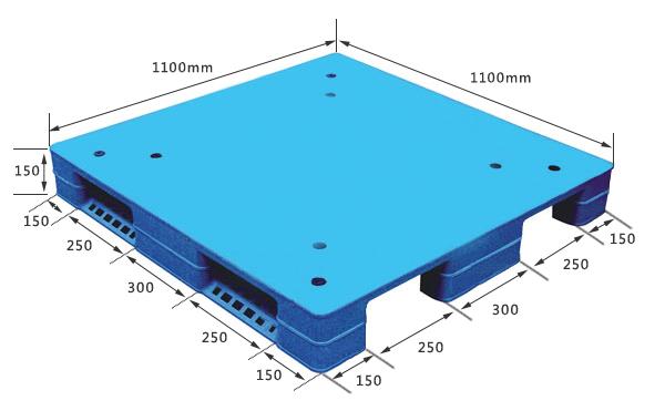 1111焊接川字平板托盘